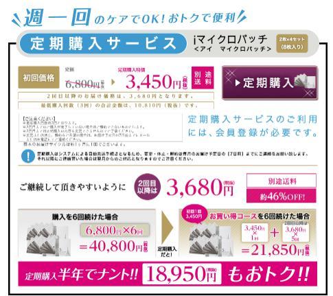 iマイクロパッチの定期購入